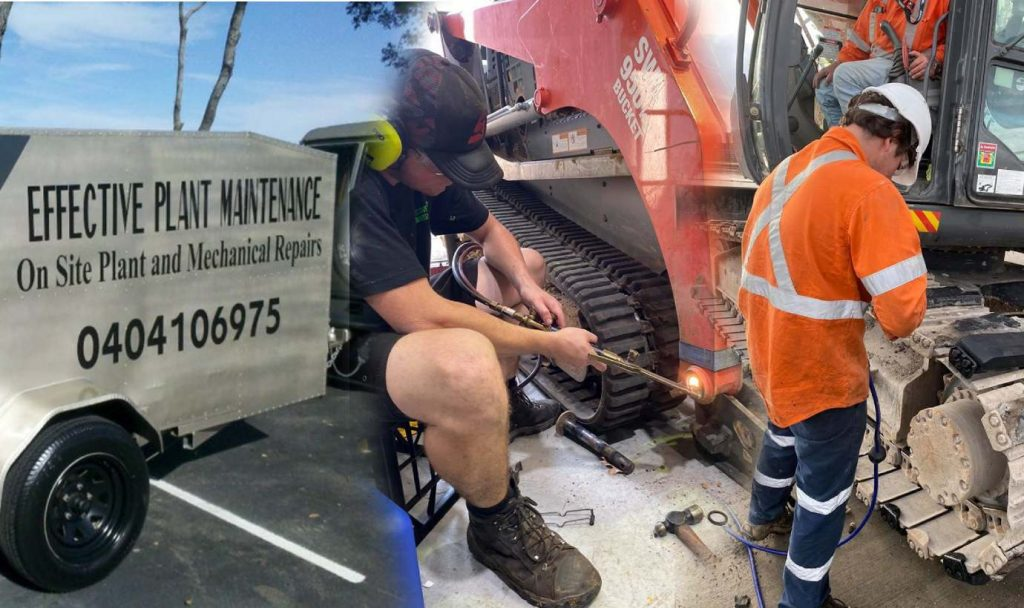 Mobile plant mechanic - Effective Plant Maintenance